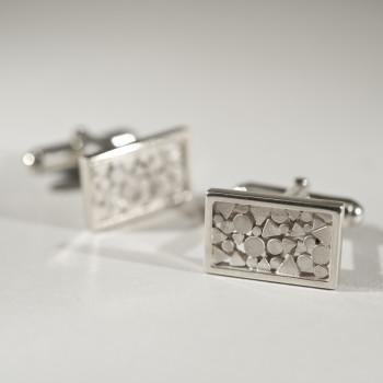 Silver Alpine Cufflinks